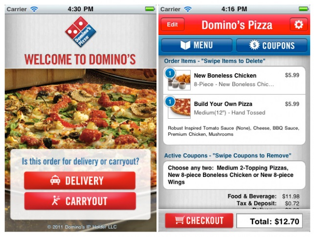 Online Now Accounts For 71 Of Dominos Pizza Orders Netimperative