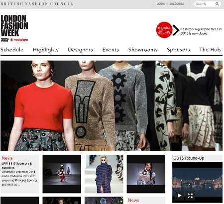 London Fashion Week 10 Most Popular Designers On Tumblr Netimperative