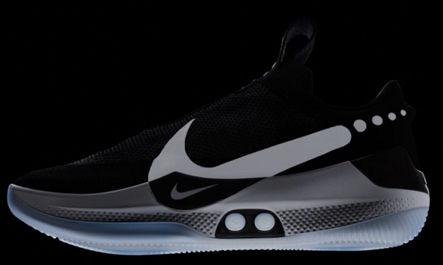 Nike reveals self lacing TRAINERS that